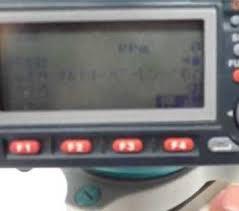 GPS測量機 表示