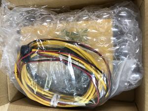 GPS測量機 ケーブル ビニール袋に入れる